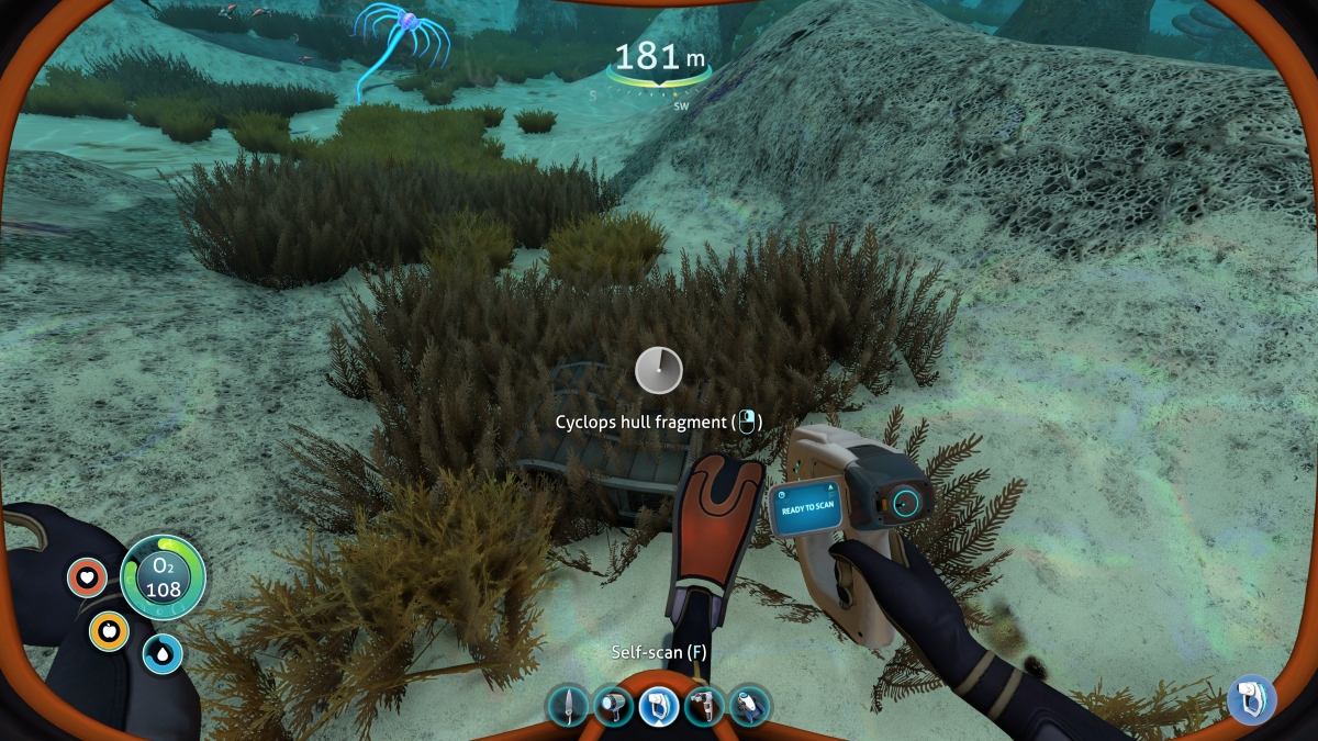 Subnautica Lifepod 13 And The Mushroom Forest Wreck Craftable Worlds The scanner room can be picky to place as it only connects on 2 side, you your tried rotaing to room, i think you can. mushroom forest wreck